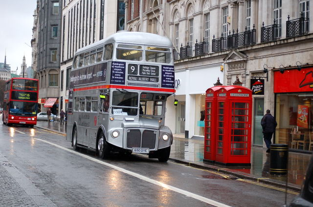Routemasters in the wet for Is there any shops open on easter sunday